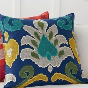 Pottery Barn Elon Ikat Pillow cover